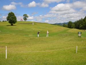 牧場パークゴルフ