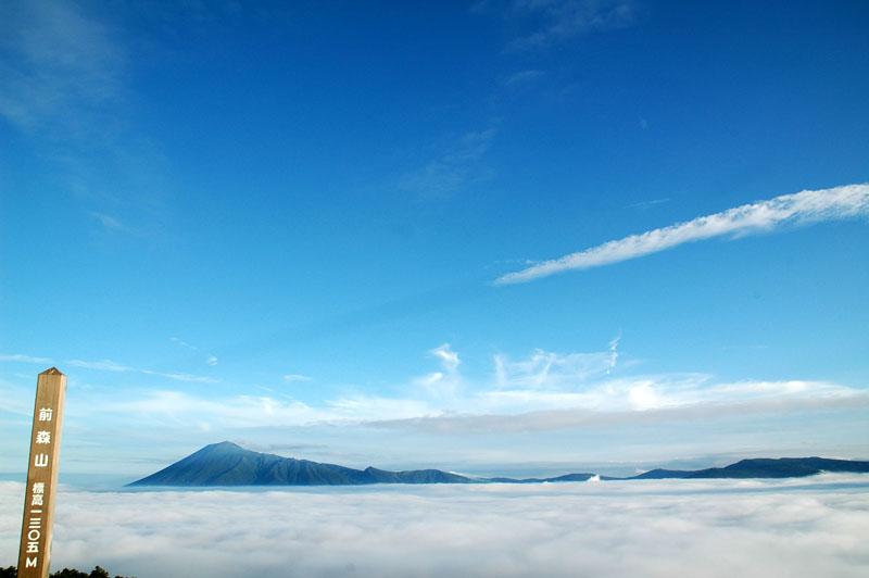 雲海と岩手山