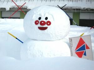 スクール雪だるま