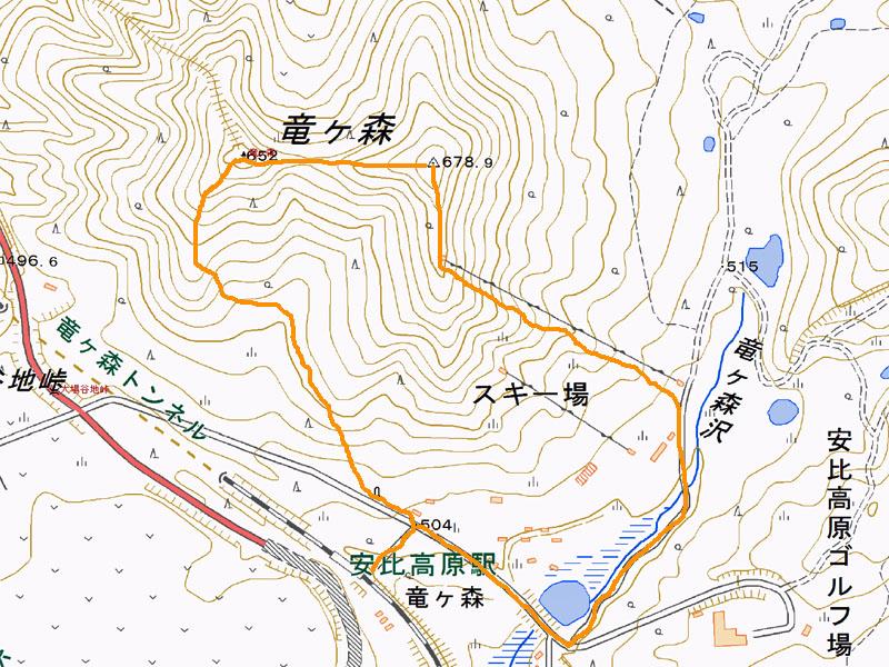 2015竜ヶ森マップ