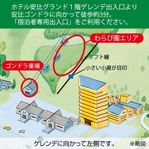 わらび園マップ
