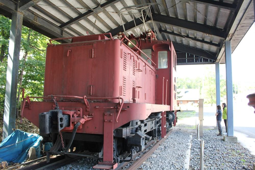松尾の鉱山電車