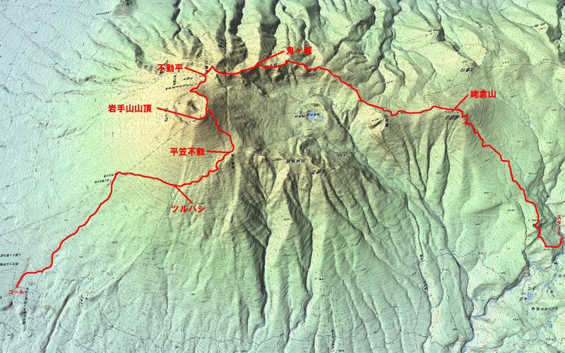 20150905-0岩手山ルートマップ