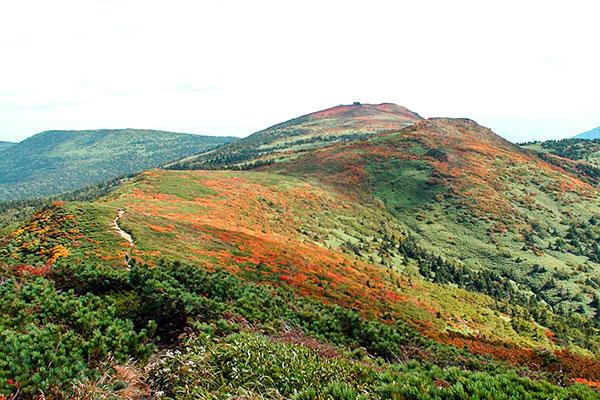 小畚山から見た三ツ石方面