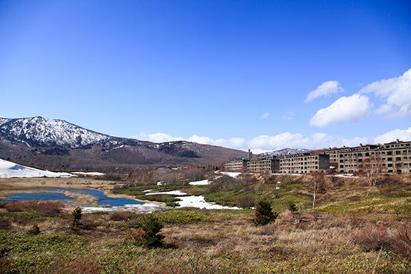 松尾鉱山 住居群跡