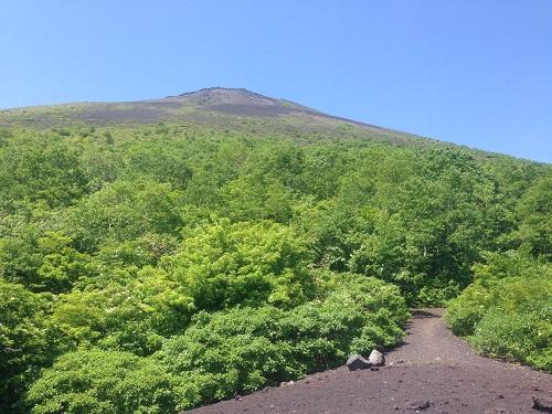第二噴火口から見た山頂IMG_0446