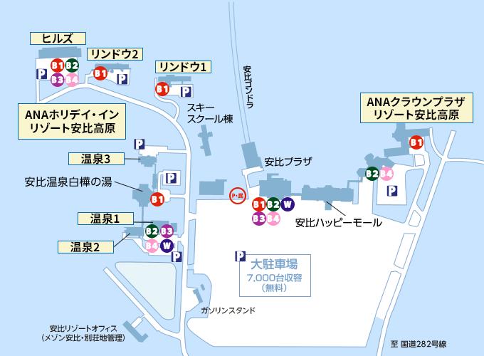 安比高原エリアマップ-3