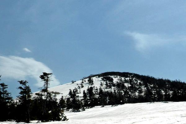 積雪期限定ルートからの源太ヶ岳
