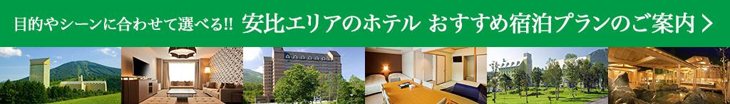目的やシーンに合わせて選べる!! 安比エリアのホテルおすすめ宿泊プランのご案内