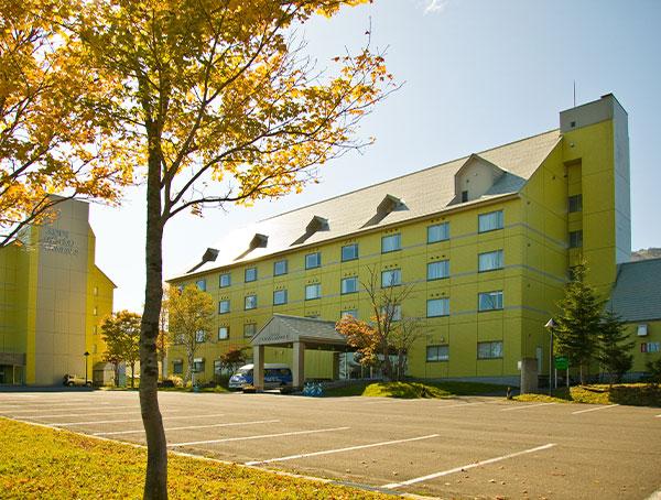 秋の安比高原温泉ホテル