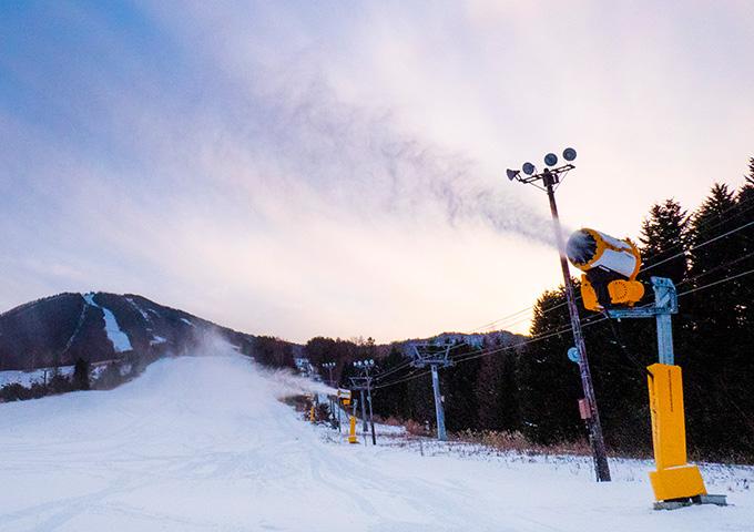 最新式人工降雪機
