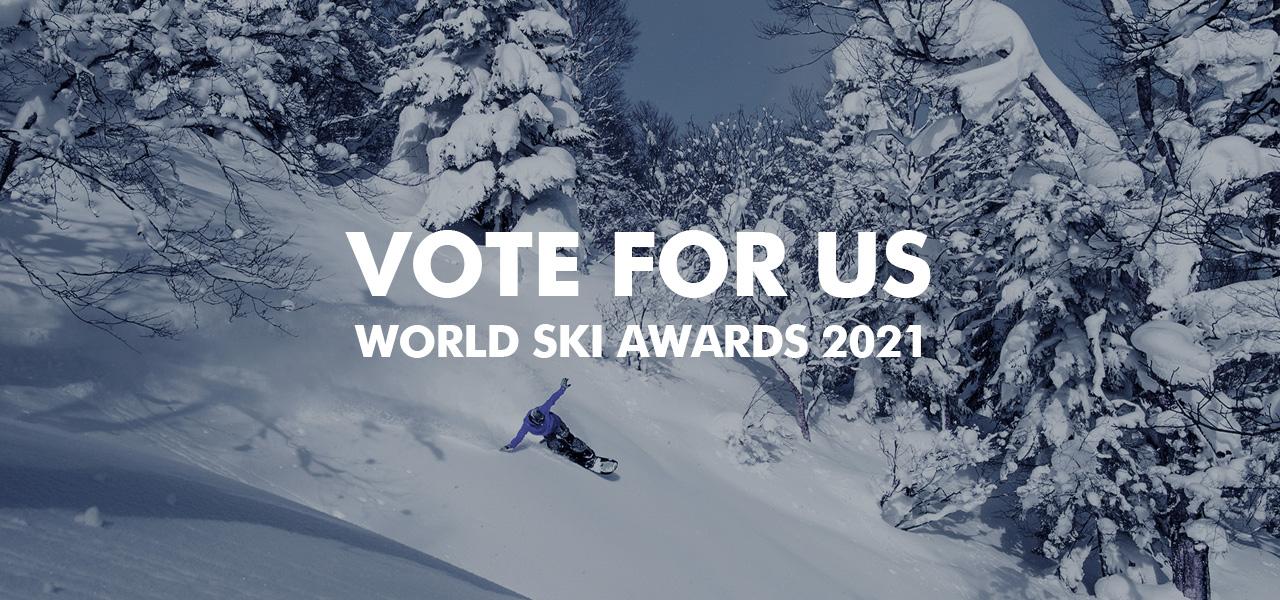 VOTE FOR US World Ski Awards 2021